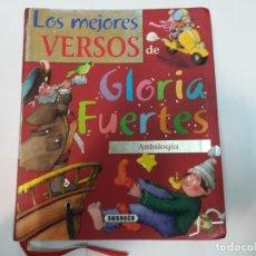 Libros de segunda mano: GLORIA FUERTES LOS MEJORES VERSOS DE GLORIA FUERTES SA4611. Lote 275228828