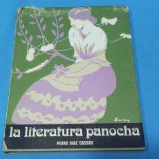 Libros de segunda mano: LA LITERATURA PANOCHA - PEDRO DÍAZ CASSOU - COLECCIÓN HOJA DE LAUREL 4. Lote 275471903