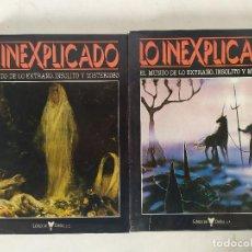 Livros em segunda mão: 2 LIBROS DE LO INEXPLICADO, ED. DELTA, VOLÚMENES 2 Y 4, ORBIS, BARCELONA, 1982. Lote 275535823