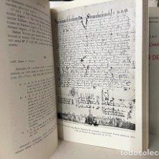 Libros de segunda mano: COLECCIÓN DIPLOMÁTICA DE SAN SALVADOR DE OÑA (822-1284). 2 TOMOS. (1.027 PP.). Lote 275626838