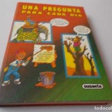 Libros de segunda mano: UNA PREGFUNTA PARA CADA DÍA SUSAETA. Lote 275921783
