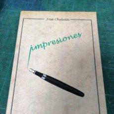 Libros de segunda mano: CHELALA. IMPRESIONES.. Lote 276454373