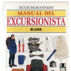 Libros de segunda mano: MANUAL DEL EXCURSIONISTA, HUGH MCMANNERS, BLUME 1996. Lote 276716968
