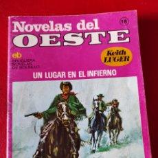 Libros de segunda mano: LOTE DE 7 NOVELAS DEL OESTE. EDITORIAL BRUGUERA. 1976. Lote 276733573