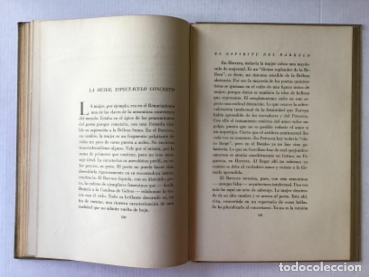 Libros de segunda mano: EL ESPÍRITU DEL BARROCO. Tres interpretaciones. - DÍAZ-PLAJA, Guillermo. - Foto 5 - 123181727