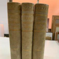 Libros de segunda mano: FOLKLORE Y COSTUMBRES DE ESPAÑA. TOMOS I AL III. CASA EDITORIAL A. MARTÍN. BARCELONA 1931.. Lote 276922938