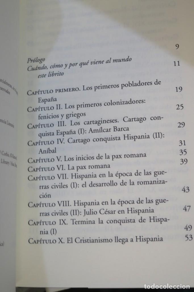 Libros de segunda mano: HISTORIA DE ESPAÑA. CESAR VIDAL. FEDERICO JIMENEZ LOSANTOS. 2 TOMOS - Foto 2 - 276961888