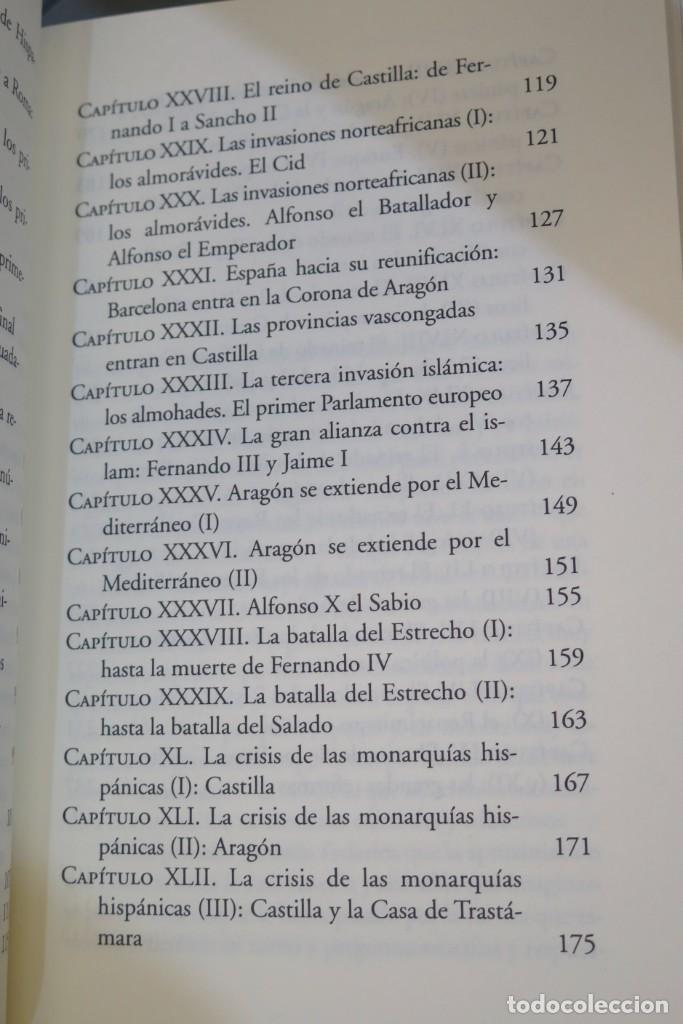 Libros de segunda mano: HISTORIA DE ESPAÑA. CESAR VIDAL. FEDERICO JIMENEZ LOSANTOS. 2 TOMOS - Foto 4 - 276961888