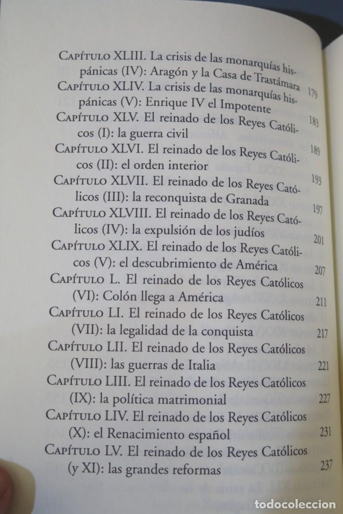 Libros de segunda mano: HISTORIA DE ESPAÑA. CESAR VIDAL. FEDERICO JIMENEZ LOSANTOS. 2 TOMOS - Foto 5 - 276961888