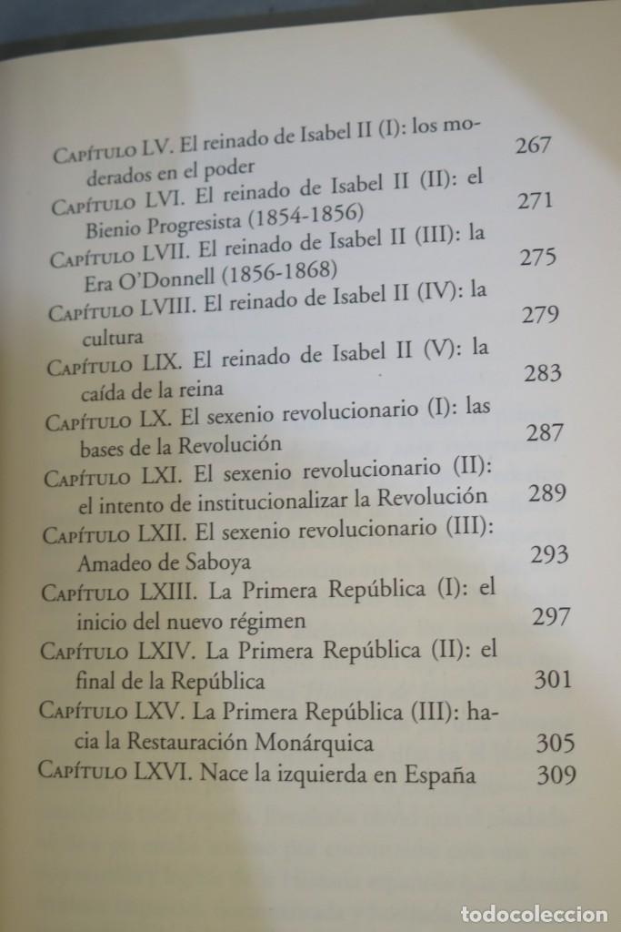 Libros de segunda mano: HISTORIA DE ESPAÑA. CESAR VIDAL. FEDERICO JIMENEZ LOSANTOS. 2 TOMOS - Foto 10 - 276961888