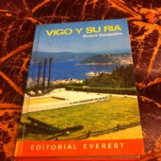 Libros de segunda mano: ÁLVARO CUNQUEIRO. VIGO Y SU RÍA. ED. EVEREST, 1977. Lote 277002253