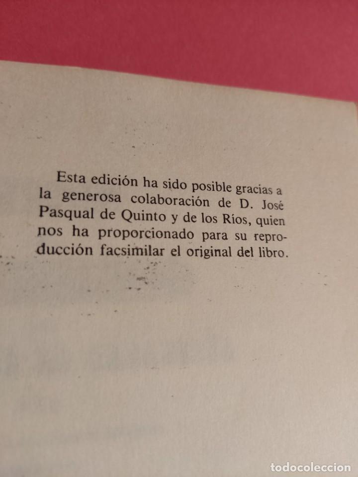 Libros de segunda mano: DESCRIPCIÓN E HISTORIA DEL CASTILLO DE LA ALJAFERÍA 1 Ed. Fascimil - Foto 2 - 277102788