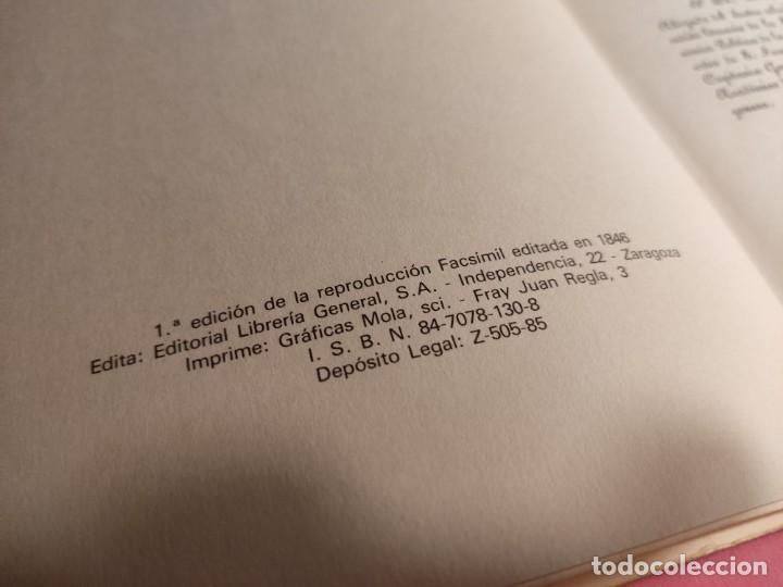 Libros de segunda mano: DESCRIPCIÓN E HISTORIA DEL CASTILLO DE LA ALJAFERÍA 1 Ed. Fascimil - Foto 3 - 277102788