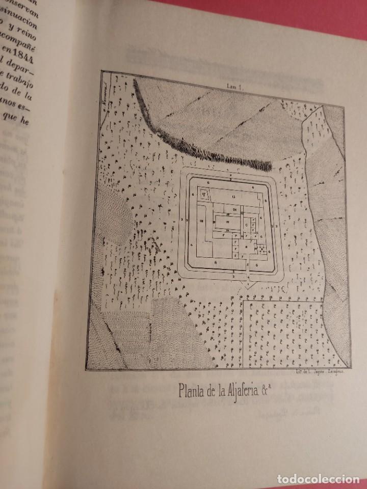 Libros de segunda mano: DESCRIPCIÓN E HISTORIA DEL CASTILLO DE LA ALJAFERÍA 1 Ed. Fascimil - Foto 6 - 277102788