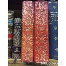 Libros de segunda mano: AÑO 1970 - OBRAS COMPLETAS DE MIGUEL DE CERVANTES COLECCIÓN OBRAS ETERNAS AGUILAR LUJO. Lote 277128948