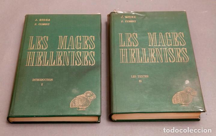 J. BIEDEZ , F. CUMONT : LES MAGES HELLENISES - MAGOS HELENISTAS - GRIEGOS - OCULTISMO - ESOTERISMO (Libros de Segunda Mano - Parapsicología y Esoterismo - Otros)