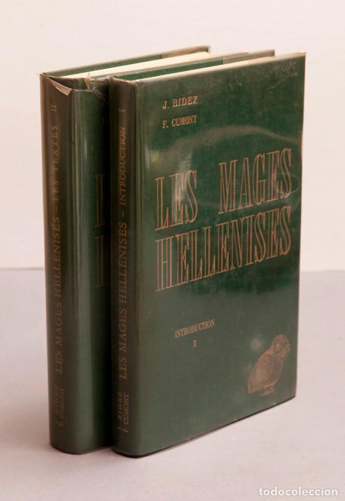 Libros de segunda mano: J. BIEDEZ , F. CUMONT : LES MAGES HELLENISES - MAGOS HELENISTAS - GRIEGOS - OCULTISMO - ESOTERISMO - Foto 2 - 277142903