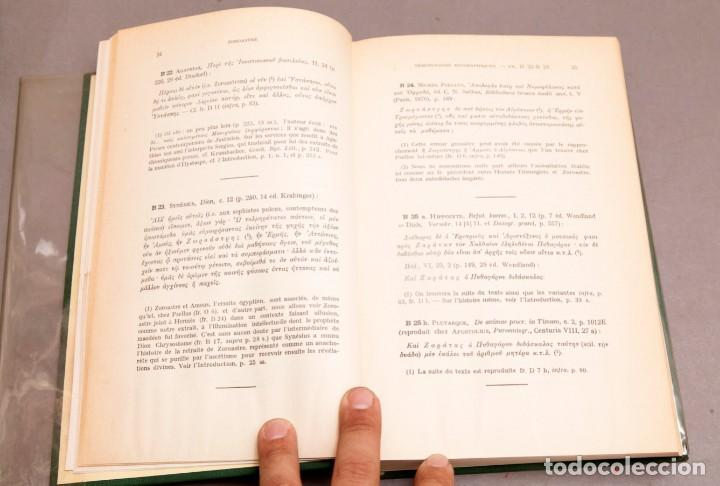 Libros de segunda mano: J. BIEDEZ , F. CUMONT : LES MAGES HELLENISES - MAGOS HELENISTAS - GRIEGOS - OCULTISMO - ESOTERISMO - Foto 7 - 277142903