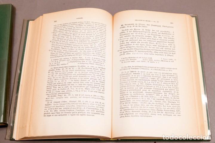 Libros de segunda mano: J. BIEDEZ , F. CUMONT : LES MAGES HELLENISES - MAGOS HELENISTAS - GRIEGOS - OCULTISMO - ESOTERISMO - Foto 8 - 277142903
