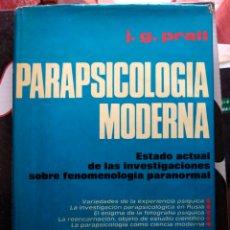 Libros de segunda mano: BIBLIOTECA DE ESTUDIOS PARAPSICOLOGICOS PARAPSICOLOGÍA MODERNA VOLUMEN 5 J G PRATT. Lote 277155858