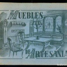 Libros de segunda mano: NUMULITE *3 MUEBLES DE ARTESANÍA FICHAS MOBILIARIO. Lote 277187238