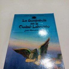 Libros de segunda mano: COL. LABOR BOLSILLO JUVENIL - LA SONÁMBULO EN LA CIUDAD LABERINTO - JOAN MANUEL GISBERT. Lote 277188628