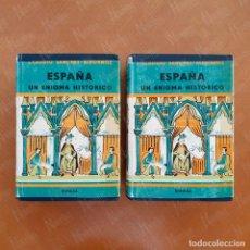 Libros de segunda mano: ESPAÑA, UN ENIGMA HISTÓRICO I Y II. Lote 277200083