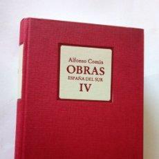 Libros de segunda mano: OBRAS ESPAÑA DEL SUR IV - ALFONSO COMIN. Lote 277264933