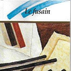 Libros de segunda mano: LE FUSAIN / M. WATTENBERGH. BELGIQUE : BYBLOS, 1994. 13,5 CM. 47 P.. Lote 277306343