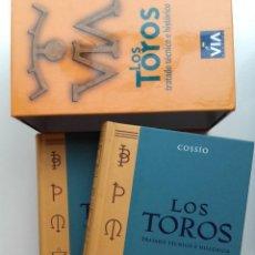 Libros de segunda mano: LOS TOROS. TRATADO TECNICO HISTORICO - 2 TOMOS - JOSE Mº DE COSSIO - ED. ESPASA, TAUROMAQUIA. Lote 277434823
