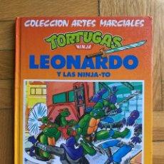 Libros de segunda mano: TORTUGAS NINJA: LEONARDO Y LAS NINJA-TO - D3 - COLECCIÓN ARTES MARCIALES - MULTILIBRO S.A.. Lote 277447758