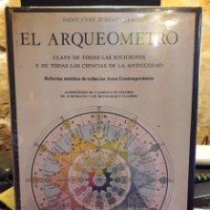 Libros de segunda mano: EL ARQUEOMETRO. Lote 277508003