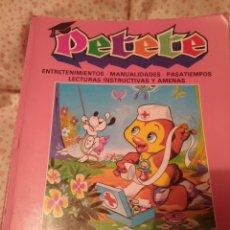 Libros de segunda mano: PETETE,APRENDE JUGANDO. Lote 277527383
