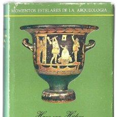 Libros de segunda mano: HANS VON HÜLSEN: HALLAZGOS EN MAGNA GRECIA. (TRADUCCIÓN DE ESTHER GARCÍA REGALADO. TAURUS EDS, 1966). Lote 277528828