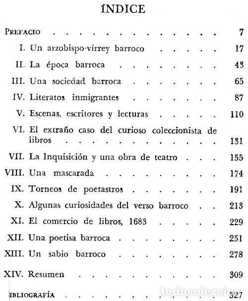 Libros de segunda mano: LE EPOCA BARROCA EN EL MEXICO COLONIAL. IRVING A. LEONARD. - Foto 3 - 277529553