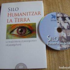 Libros de segunda mano: HUMANITZAR LA TERRA. SILO. AMB DVD. EDICIONES LEÓN ALADO 2013. Lote 277603788