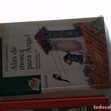 Libros de segunda mano: C-17 LIBRO ALAS DE MOSCA, PARA ANGEL FINA CASALDERREY - SOPA DE LIBROS ANAYA. Lote 277630333
