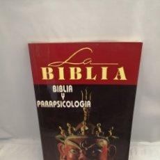 Libros de segunda mano: BIBLIA Y PARAPSICOLOGÍA. Lote 277557513