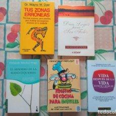 Libros de segunda mano: LIBROS ESPIRITUALIDAD PSICOLOGÍA 2€ C/U A ELEGIR WAYNE W DYER ZONAS ERRÓNEAS SENDERO MANO IZQUIERDA. Lote 277661973