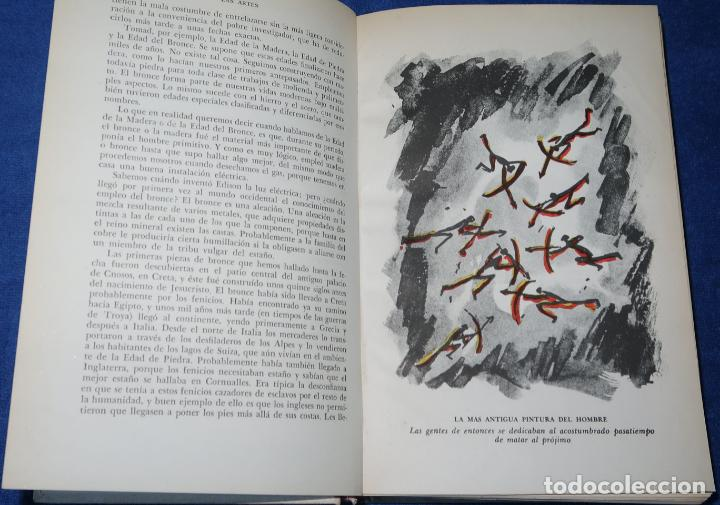 Libros de segunda mano: Las Artes - Hendrik W. Van Loon - Luis Miracle (1956) - Foto 6 - 277666788