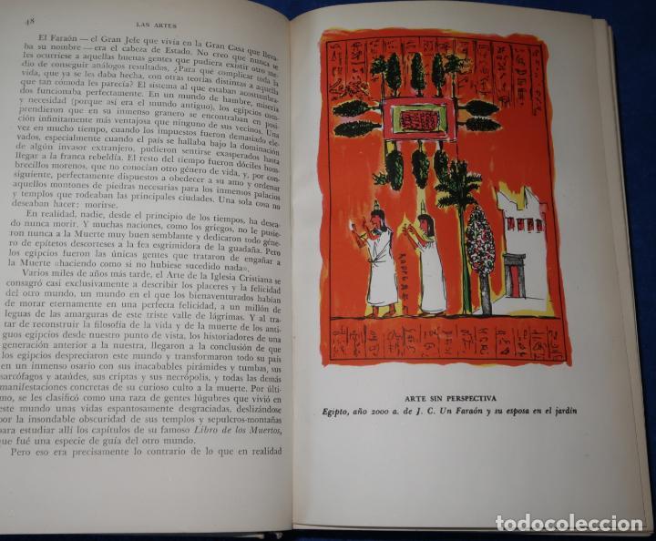 Libros de segunda mano: Las Artes - Hendrik W. Van Loon - Luis Miracle (1956) - Foto 7 - 277666788