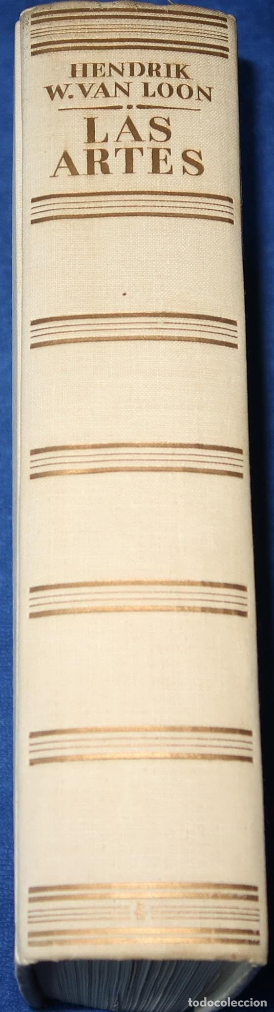 LAS ARTES - HENDRIK W. VAN LOON - LUIS MIRACLE (1956) (Libros de Segunda Mano - Bellas artes, ocio y coleccionismo - Otros)