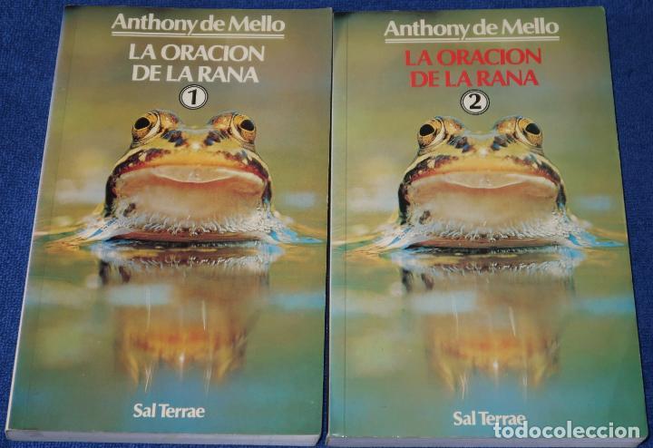LA ORACIÓN DE LA RANA - TOMO I Y II - ANTHONY DE MELLO - SAL TERRAE (2008) (Libros de Segunda Mano - Pensamiento - Otros)