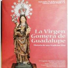 Libros de segunda mano: TEJERA GASPAR, DÍAZ PADILLA. LA VIRGEN GOMERA DE GUADALUPE. 1999. CANARIAS.. Lote 277681273