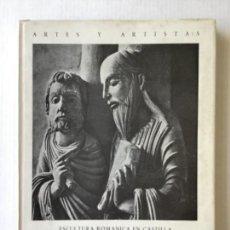 Libros de segunda mano: ESCULTURA ROMANICA EN CASTILLA. LOS MAESTROS DE OVIEDO Y AVILA. - PITA ANDRADE, JOSÉ MANUEL.. Lote 123231252