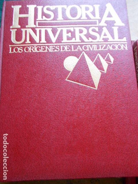 Libros de segunda mano: HISTORIA UNIVERSAL 8 TOMOS - Foto 6 - 277711638