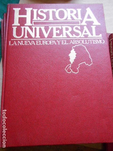 Libros de segunda mano: HISTORIA UNIVERSAL 8 TOMOS - Foto 7 - 277711638