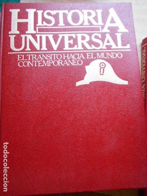 Libros de segunda mano: HISTORIA UNIVERSAL 8 TOMOS - Foto 8 - 277711638