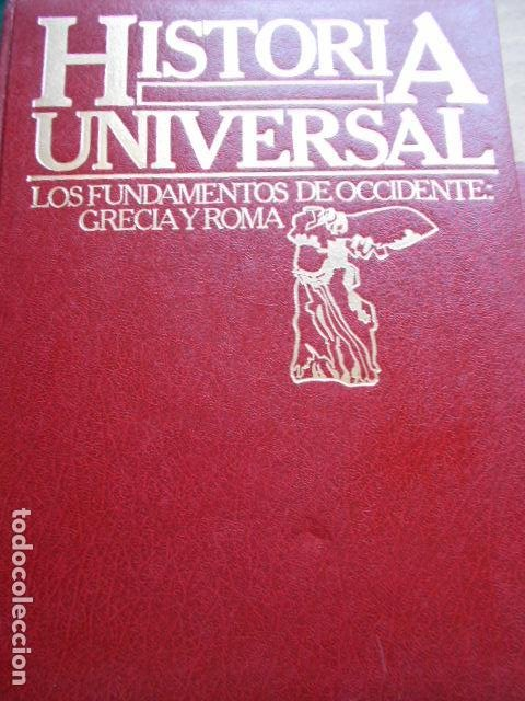 Libros de segunda mano: HISTORIA UNIVERSAL 8 TOMOS - Foto 11 - 277711638