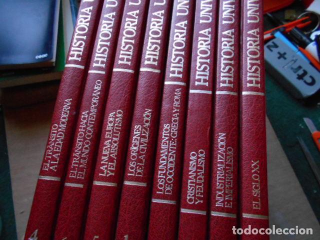 HISTORIA UNIVERSAL 8 TOMOS (Libros de Segunda Mano - Historia - Otros)